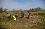Having cleared most of the cattle pond1