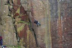 SACV volunteer abseiling