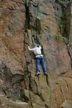 SACV volunteer climbing 1