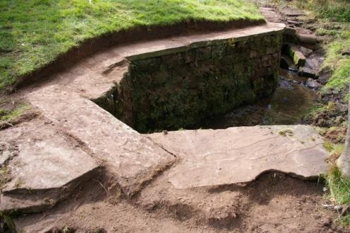 Stonework revealed 3