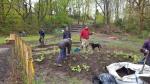 Volunteers at work2