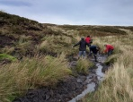 Improving the drainage from the path