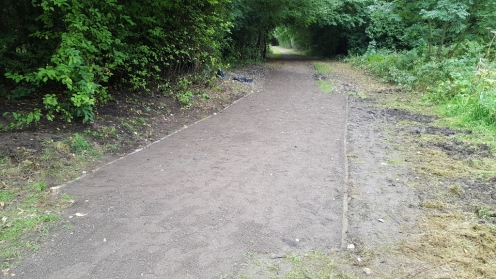 The finished path