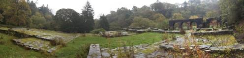 The ruin of Errwood Hall