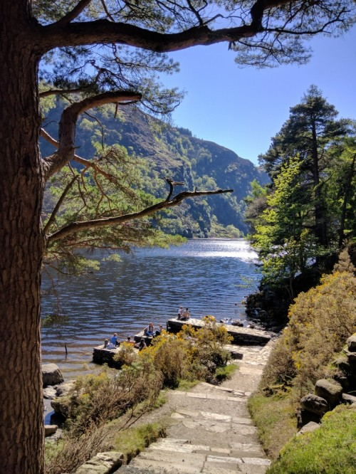 Upper lake at Glendalough