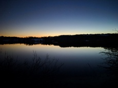 Tittesworth Reservoir by night